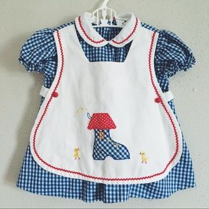 Other - Vintage novelty pinafore baby dress💗